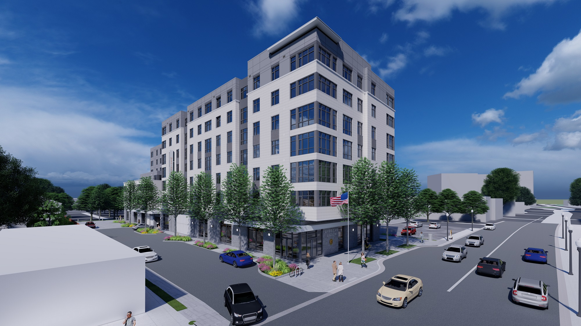In 2017 The American Legion Post 139 Selected Apah To Redevelop Their Site Virginia Square Create 160 Affordable Apartments And A New